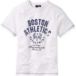 T-shirty męskie z nadrukiem: T-shirt Regular Fit bonprix biały