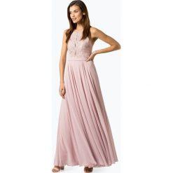 Marie Lund - Damska sukienka wieczorowa, różowy. Czerwone sukienki koktajlowe marki Marie Lund, w koronkowe wzory, z koronki. Za 699,95 zł.