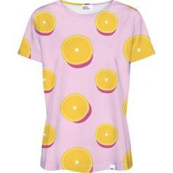 Colour Pleasure Koszulka damska CP-030 114 różowa r. XS/S. Czerwone bluzki damskie Colour pleasure, s. Za 70,35 zł.