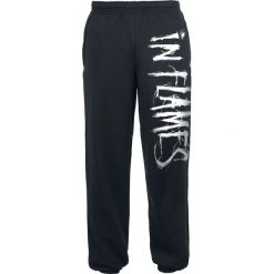 In Flames Logo Spodnie dresowe czarny. Czarne spodnie dresowe męskie In Flames, z dresówki. Za 164,90 zł.