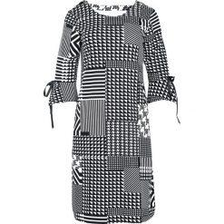 Czarna Sukienka Geometry. Czarne sukienki marki Born2be, l, midi, oversize. Za 59,99 zł.