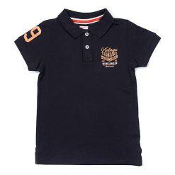 T-shirty chłopięce z krótkim rękawem: Koszulka polo w kolorze granatowym