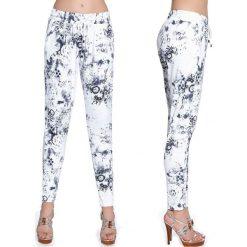 Bas-Bleu Spodnie damskie fitness Bas Black Melody białe r. M (BB220). Białe spodnie sportowe damskie Bas Bleu, m. Za 120,36 zł.