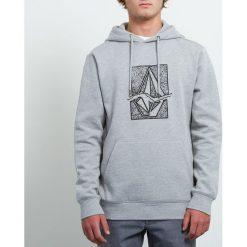 Bluza z kapturem. Szare bluzy męskie rozpinane marki La Redoute Collections, m, z bawełny, z kapturem. Za 229,28 zł.