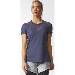 KOSZULKA - ADIDAS KR.REKAW TRABLU FEMININE TEE. Niebieskie bluzki z odkrytymi ramionami marki DOMYOS, xs, z bawełny. Za 75,99 zł.