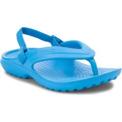 Japonki CROCS - Classic Flip K 202871 Ocean. Niebieskie klapki chłopięce marki Crocs, z gumy. Za 79,00 zł.