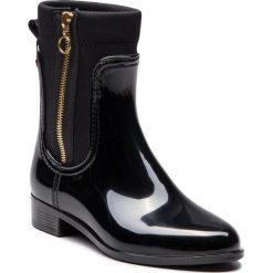 Kalosze GIOSEPPO - 46287 Black. Czarne buty zimowe damskie Gioseppo, z materiału. Za 259,00 zł.