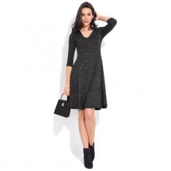 Fille Du Couturier Sukienka Damska Emeraude 36 Czarny. Czarne długie sukienki Fille Du Couturier, z długim rękawem. Za 229,00 zł.