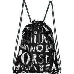 """Plecaki damskie: Plecak """"ABC"""" w kolorze czarnym – 33 x 42,5 cm"""