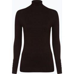 Marie Lund - Sweter damski, brązowy. Brązowe swetry klasyczne damskie Marie Lund, l, prążkowane, z golfem. Za 149,95 zł.