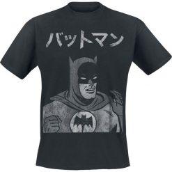 T-shirty męskie z nadrukiem: Batman Siro T-Shirt czarny