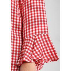 Bluzki asymetryczne: Zizzi MBAKERSFIELD Bluzka tango red