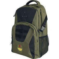 Plecaki męskie: Halo Master Chief Plecak zielony/czarny