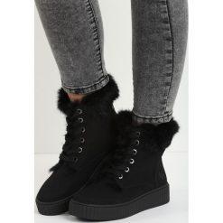 Czarne Śniegowce Maven. Czarne buty zimowe damskie Born2be. Za 99,99 zł.