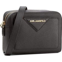Torebka KARL LAGERFELD - 76KW3050 Black. Czarne listonoszki damskie KARL LAGERFELD. W wyprzedaży za 559,00 zł.