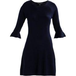 Sukienki: Dorothy Perkins FLUTE SLEEVE DRESS Sukienka dzianinowa navy blue