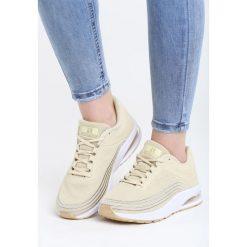 Złote Buty Sportowe Soft Day. Żółte buty sportowe damskie marki NEWFEEL, z gumy. Za 99,99 zł.
