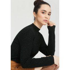 Czarny Sweter Gind. Czarne swetry klasyczne damskie other, na jesień, l. Za 59,99 zł.