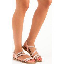 Sandały damskie: Stylowe różowe sandały GIRLHOOD