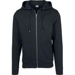 Urban Classics Basic Zip Hoodie Bluza z kapturem rozpinana czarny. Niebieskie bluzy męskie rozpinane marki Urban Classics, l, z okrągłym kołnierzem. Za 199,90 zł.