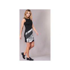 Sukienki krótkie Desigual  JEPOLE. Sukienki małe czarne marki Desigual, m, z krótkim rękawem. Za 244,30 zł.