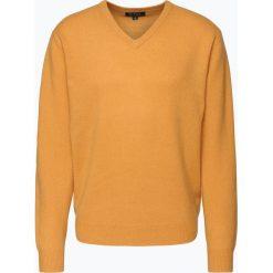Swetry męskie: Mc Earl – Sweter męski, żółty