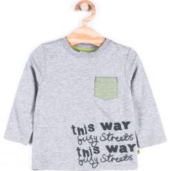 Koszulka. Zielone t-shirty chłopięce z długim rękawem Cars, z bawełny. Za 24,90 zł.