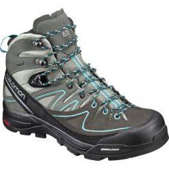 Buty trekkingowe damskie: Salomon Buty damskie X Alp Mid Ltr GTX W Shadow/Castor Gray/Aruba Blue  r. 40 (394732)