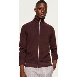 Bluza ze stójką - Bordowy. Czerwone bluzy męskie marki KALENJI, m, z elastanu, z długim rękawem, długie. W wyprzedaży za 59,99 zł.