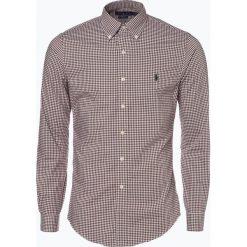 Polo Ralph Lauren - Koszula męska – Slim Fit, brązowy. Brązowe koszule męskie na spinki Polo Ralph Lauren, l, z klasycznym kołnierzykiem. Za 499,95 zł.
