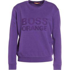 Bluzy damskie: BOSS Orange TALOGO Bluza dark purple