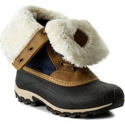Śniegowce KAMIK - Harper NK2153  Navy. Brązowe buty zimowe damskie marki NEWFEEL, z gumy. W wyprzedaży za 329,00 zł.