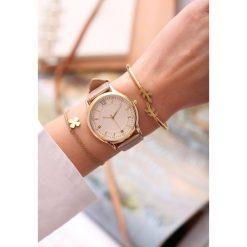 Beżowy Zegarek Day-to-day. Brązowe zegarki damskie other. Za 39,99 zł.