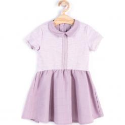 Sukienka. Fioletowe sukienki dziewczęce PENGUIN, z bawełny, bez rękawów. Za 29,90 zł.