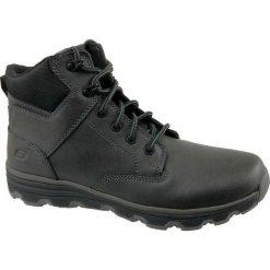 Buty trekkingowe męskie: Skechers Buty męskie Format czarne r. 45 (65156)