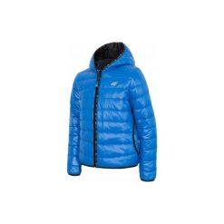 4F Kurtka Chłopięca J4Z17 jkum103 Niebieski 104. Niebieskie kurtki chłopięce sportowe marki bonprix, z kapturem. W wyprzedaży za 139,00 zł.