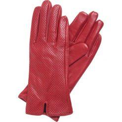 Rękawiczki damskie 45-6-520-2T. Czerwone rękawiczki damskie Wittchen. Za 99,00 zł.