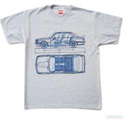 Koszulka BMW 3 GREY. Szare bralety marki Pakamera, m, z krótkim rękawem. Za 77,00 zł.