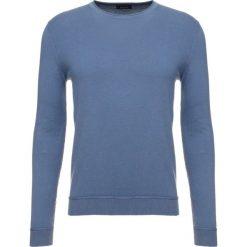 Swetry klasyczne męskie: Sisley Sweter mottled royal blue