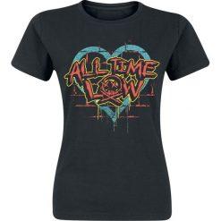 All Time Low Brick Wall Skull Koszulka damska czarny. Czarne bluzki damskie All Time Low, l. Za 62,90 zł.