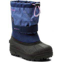 Kozaki dziewczęce: Śniegowce COLUMBIA – Childrens Powderbug Plus II BC1326 Eve/Northern Lights 593