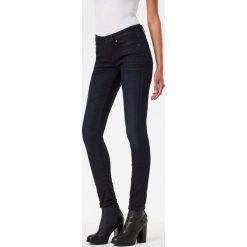 G-Star Raw - Jeansy 3301. Niebieskie jeansy damskie marki G-Star RAW, z bawełny. W wyprzedaży za 399,90 zł.