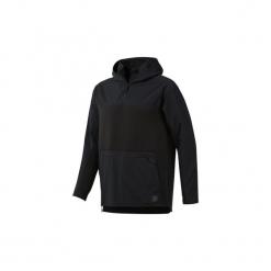 Bluzy Reebok Sport  Bluza z kapturem Training Supply Control. Czarne bluzy męskie rozpinane Reebok Sport, l, z kapturem. Za 379,00 zł.