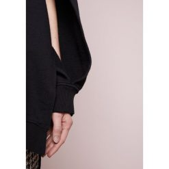 Bluzy rozpinane damskie: Each x Other DECONSTRUCTED HOODIE Bluza z kapturem black