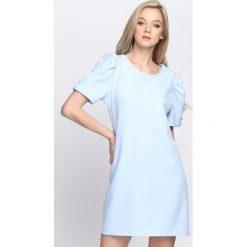Niebieska Sukienka Thunderbird. Niebieskie sukienki letnie marki Born2be, s, mini. Za 79,99 zł.