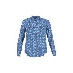 Koszule z długim rękawem Benetton  MOUTOBO. Niebieskie koszule nocne i halki marki Benetton, xs, z długim rękawem. Za 125,30 zł.