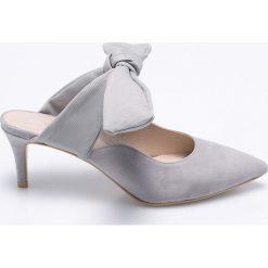 Gino Rossi - Czółenka Rumi. Szare buty ślubne damskie Gino Rossi, z materiału, na obcasie. W wyprzedaży za 149,90 zł.
