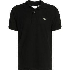 Lacoste CROCODIL Koszulka polo black. Czarne koszulki polo Lacoste, m, z bawełny. Za 379,00 zł.