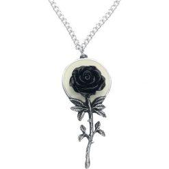Alchemy Gothic Luna Rose Naszyjnik srebrny. Szare naszyjniki damskie marki Alchemy Gothic, srebrne. Za 121,90 zł.