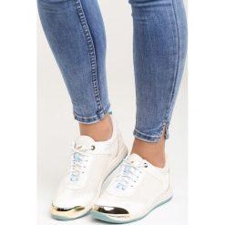 Buty sportowe damskie: Białe Buty Sportowe Coruscation